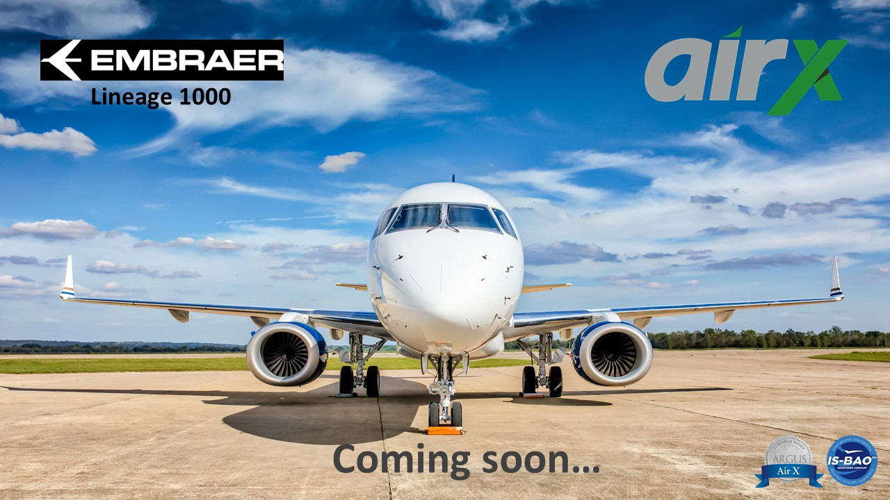 Embraer Lineage 1000 AirX
